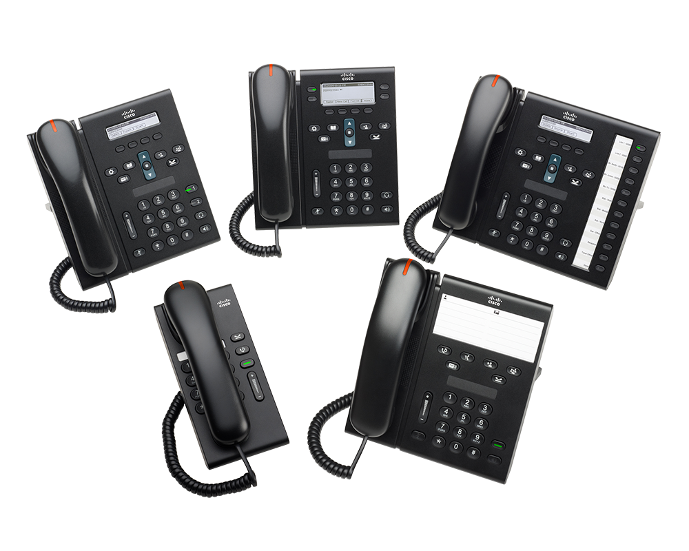 Cisco Phones der Serie 6900