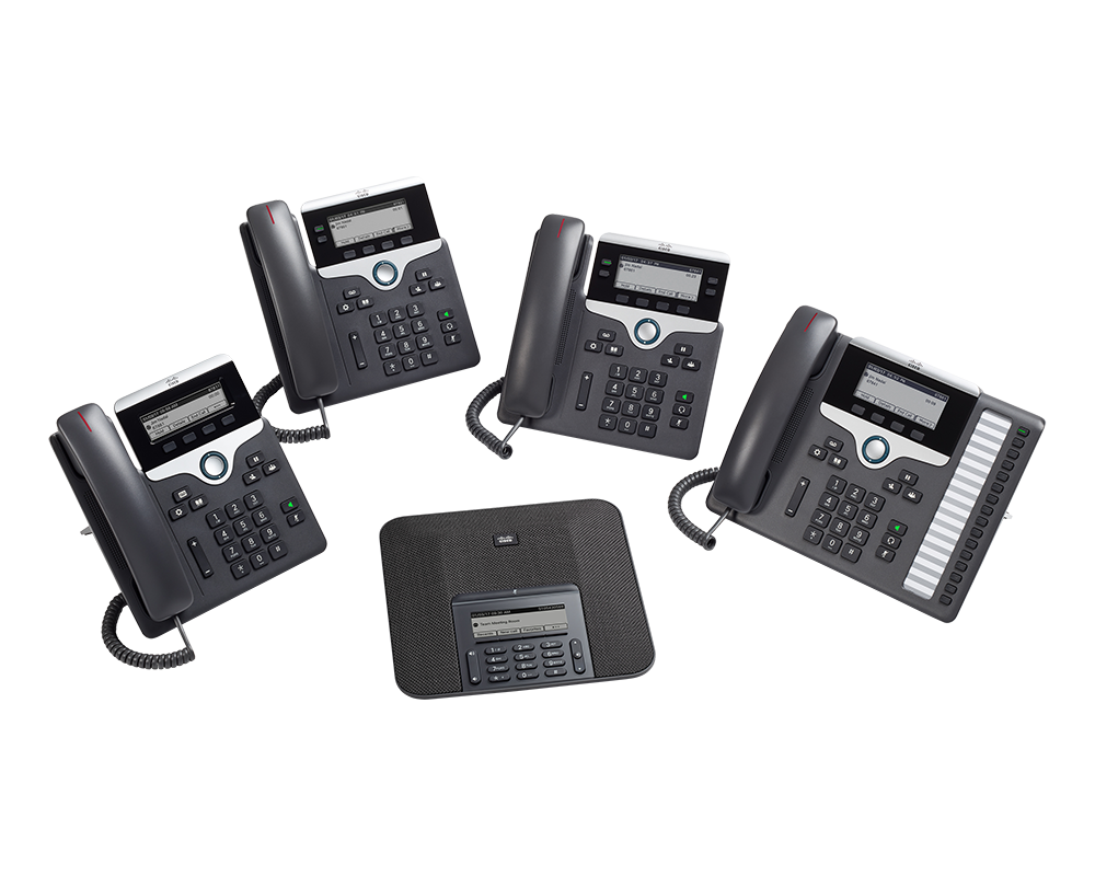 Cisco Phones der Serie 7800