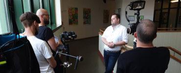 Videoproduktion im Anton-Bruckner-Gymnasium